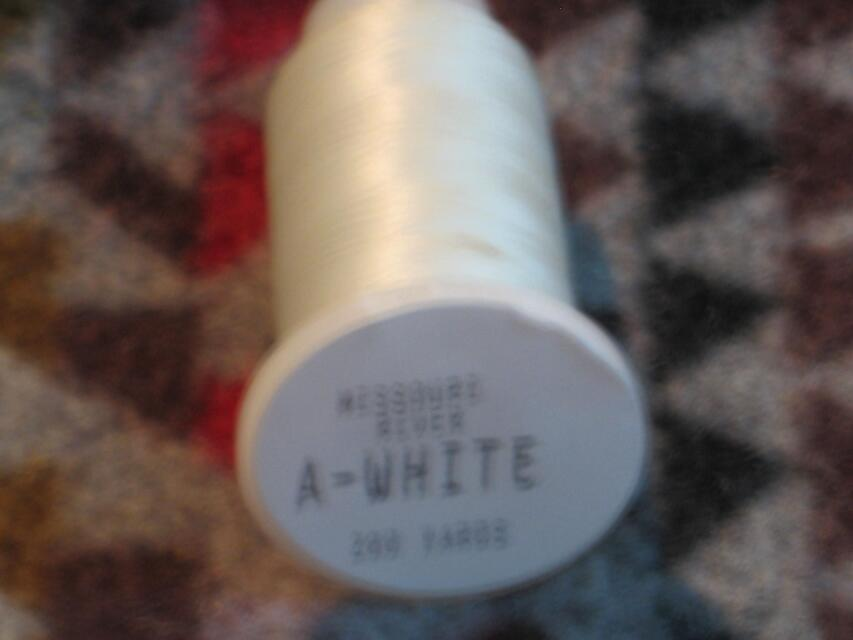 White Nymo Thread - Size A spool 200 yards